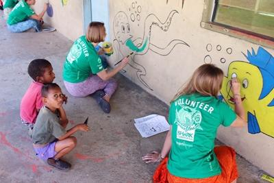 Painting the Kindergarden