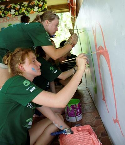 Volunteers Working in Fiji