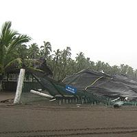 Collapsed corral