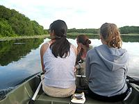 Birdwatching on the lagoon