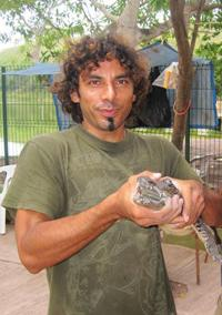 Roberto and crocodile