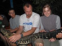 Rare Black Caiman Race