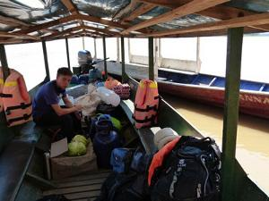 Off on River Heath expedition
