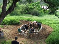 Building a waterhole