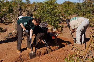 Digging the waterhole