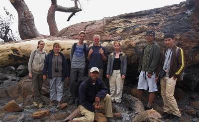 Volunteers in Botswana