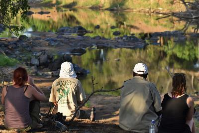 Projects Abroad's Conservation project in Botswana, Africa.