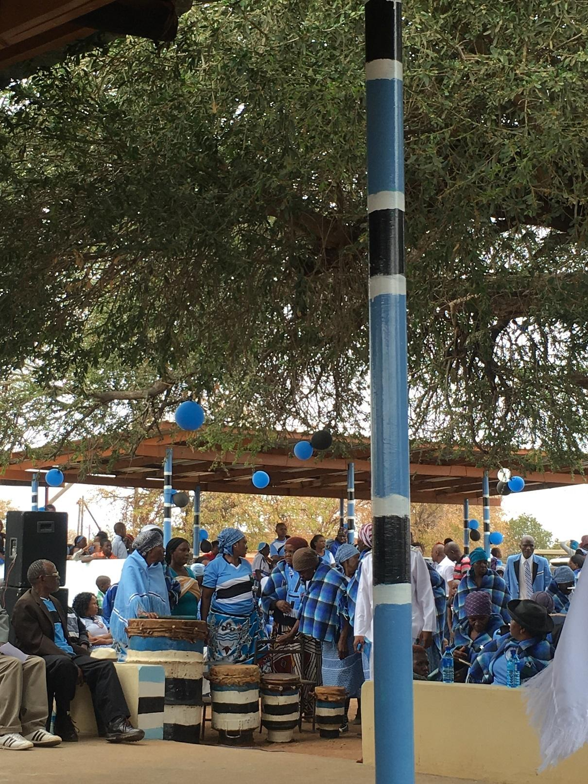 Celebrations in Botswana
