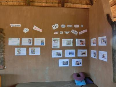 Wall showing the reality of cruel animal tourist attractions