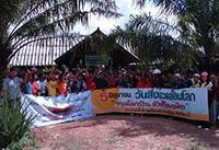 The World Environment Day mangrove planting team