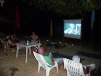 Beach cinema