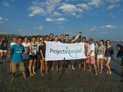 Volunteers in Thailand