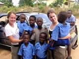 Laura & Faye at OOEIM Orphanage