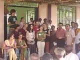 Volunteers help out at a Medical Camp in Tamil Nadu, India