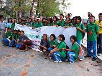 Conservation camp participants