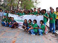 Conservation camp participants