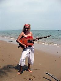 Guitar Found on the Beach