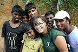 Volunteers in Sri Lanka