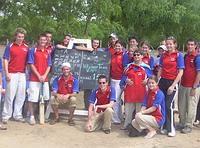 Volunteer group in India