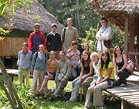 Taricaya volunteers