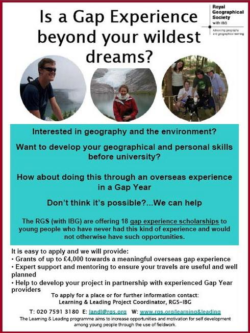 Calling All Geographers