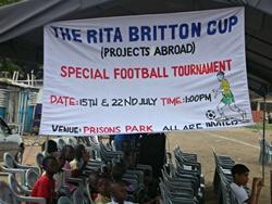 Rita Briiton Cup Banner