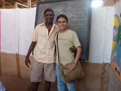 Jonatan and the school director