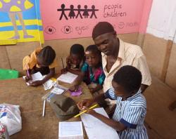 Teaching at the school