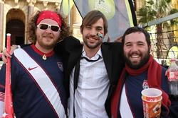 Human Rights Volunteers Meet World Cup Band in South Africa