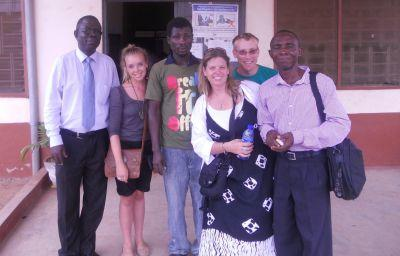 Kweku and the Human Rights team