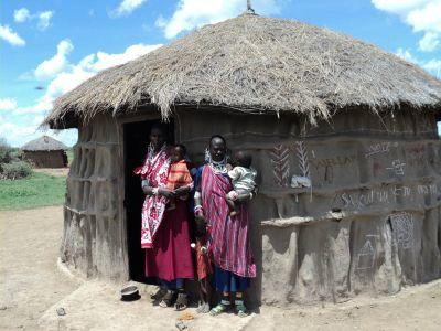 Maasai family