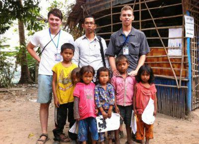 Volunteers in Siem Reap