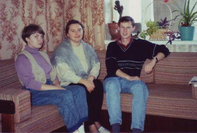 Ian in Moldova in 1992