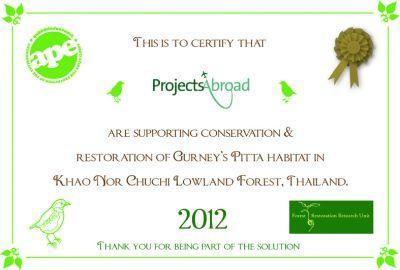 APE certificate