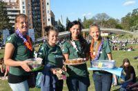 Volunteers Organize Fundraising Bake Sale in Argentina
