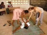 First Aid Course for Teachers in Togo