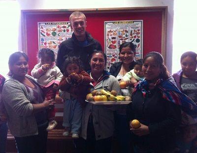 olunteer on Nutrition Project