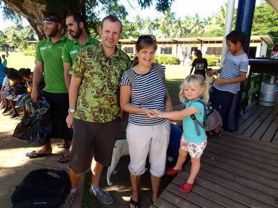 Ian Campbell in Fiji