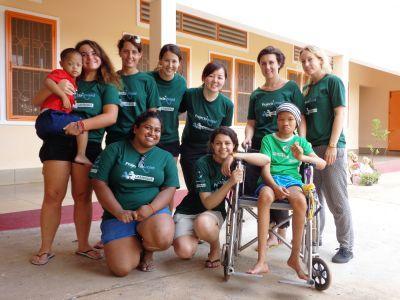 Volunteer group at Home of Hope