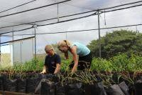 Conservation volunteers build their own nature reserve in the Galapagos
