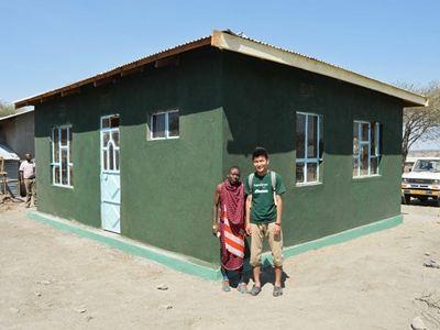 La maison construite pour les enseignants d'Esere en Tanzanie