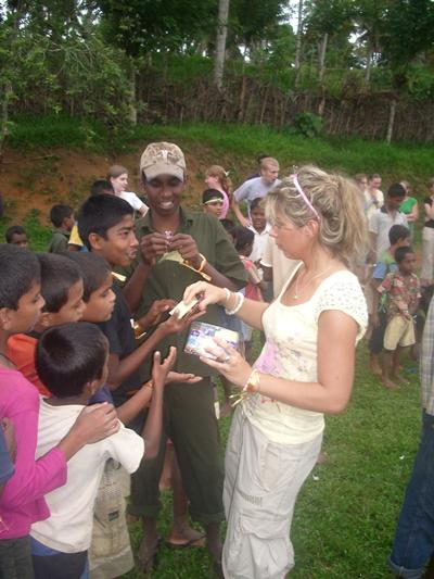 Waisenkind in Sri Lanka
