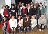 Freiwillige beim Seminar März 2008
