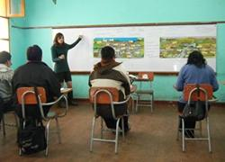 Unterrichte Lehrer in Peru