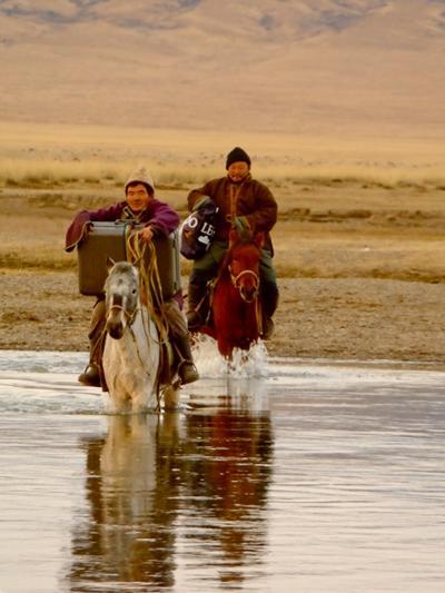 Auszeit in der mongolischen Steppe