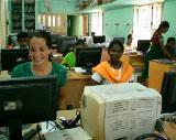 Der Zug des Wissens – Malin Pohlmann hat den Science Express in Madurai besucht
