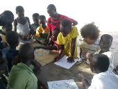 Dominic und die 'children of Accra'