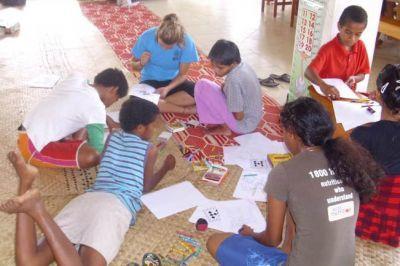 Summer School auf den Fidschi-Inseln