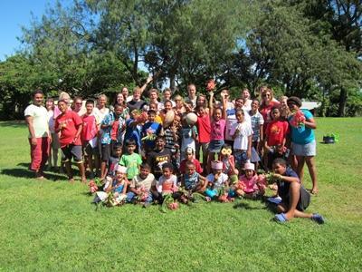 Unterricht auf den Fidschi-Inseln