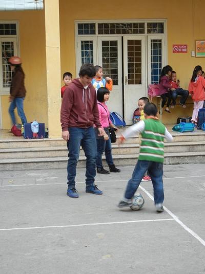 Sport - Projekt in Vietnam